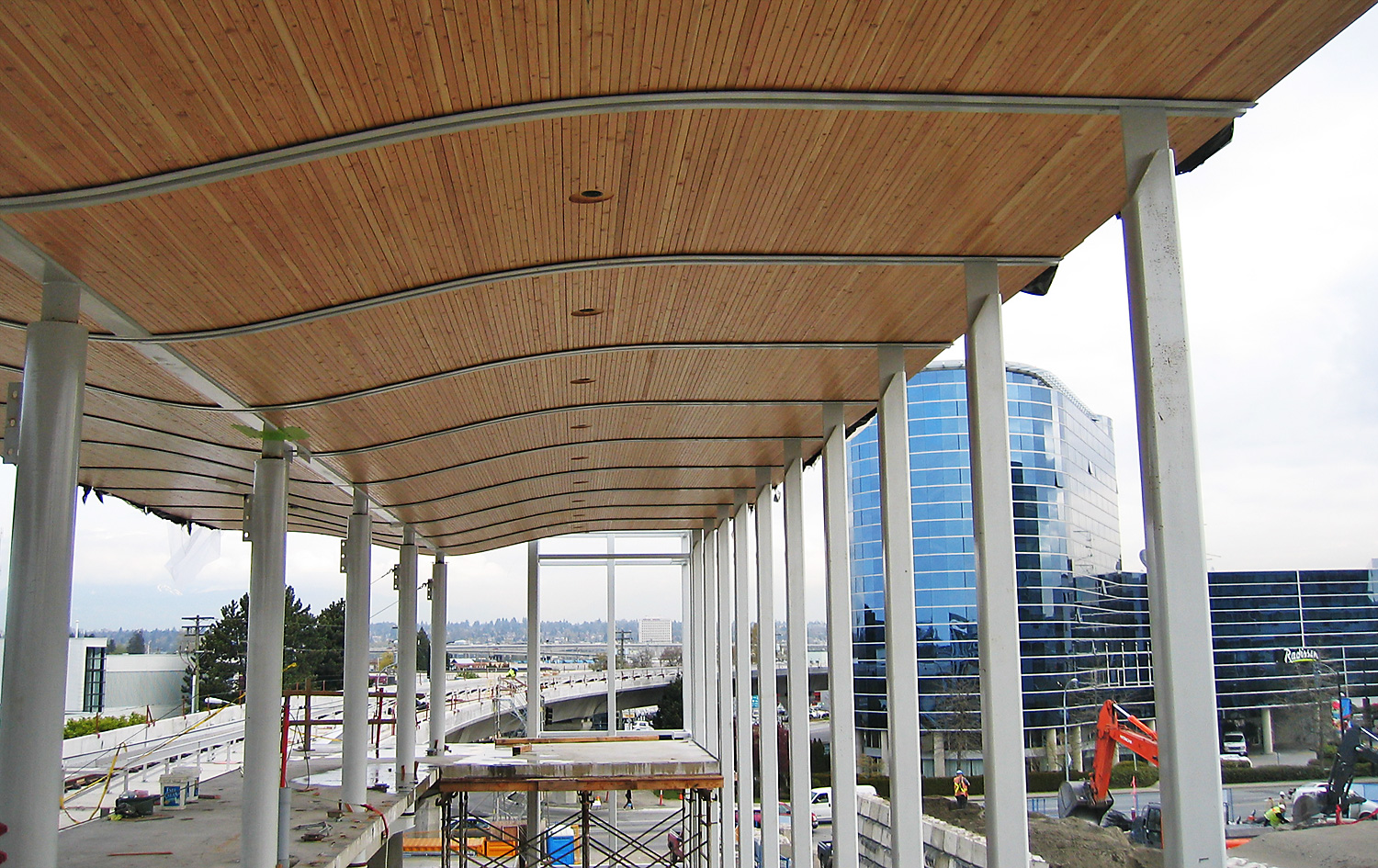 Wood Roof Systems : Canada line roof panels hrc construction inc